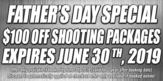 father's Day Special $100 OFF shooting Packages • expires june 30 th, 2019